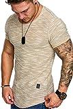 Amaci&Sons Oversize Vintage Herren Shirt Sweatshirt Crew-Neck 6023