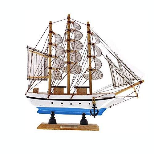 Guvd Decorazioni Artigianali in Legno per Barche, utilizzate per Ornamento da Tavolo, Puntelli per Foto, Feste a Tema Ocean Beach e Decorazione della Stanza