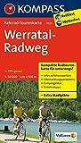 Werratal-Radweg: Fahrrad-Tourenkarte. GPS-genau. 1:50000. (KOMPASS-Fahrrad-Tourenkarten, Band 7023)
