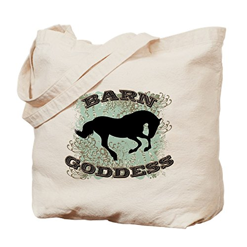 CafePress–Barn Göttin–Leinwand Natur Tasche, Reinigungstuch Einkaufstasche Tote S khaki (Redneck-humor Lustiges)