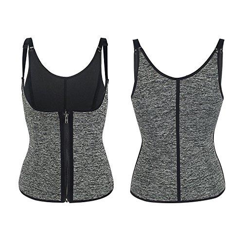 Zoom IMG-1 nheima corsetto dimagrante canotta fitness