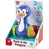 Playgo Push & Go Pinguin Krabbelspielzeug mit Bewegung