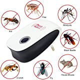 Easybuy India Us Plug : Enhanced Version Electronic Cat Ultrasonic Anti Mosquito Insect Repeller Rat Mouse Cockroach Pest Reject Repellent Eu/Us Plug
