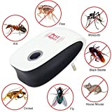 #7: Enhanced Version Electronic Cat Ultrasonic Anti Mosquito Insect Repeller Rat Mouse Cockroach Pest Reject Repellent EU/US Plug