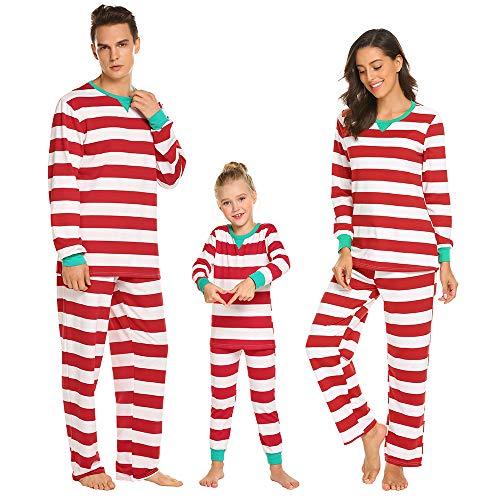 nt Flanell Weihnachten Passende Familie Pyjamas ()