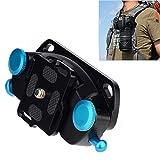 Fomito Kameragurt, mit Schnellverschlussriemen, 10,2cm Schraube, polierte Oberfläche, für DSLR-Digitalkamers, SLR-Kameras, GoPro und weitere