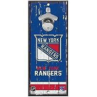 WinCraft New York Rangers NHL Schild mit Flaschenöffner