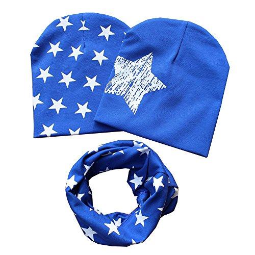patgoal-Baby-berretto-o-ring-sciarpa-ragazze-bambini-bambino-sciarpa-cappelli-cappelli-A2-Taglia-unica