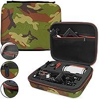 mtb more energy® Schutztasche XL für Garmin Virb Elite, X, XE / Contour Roam 3 / Ghost-S / TomTom Bandit uvm... - Tarnfarben - Koffer Case Stecksystem Modular