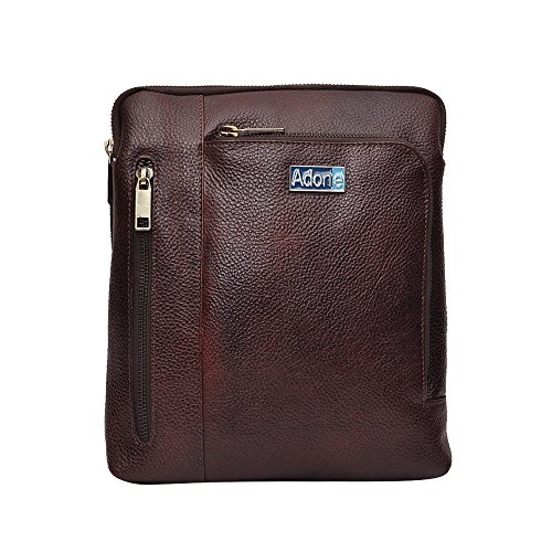 Adone Leather Brown Sling Bag