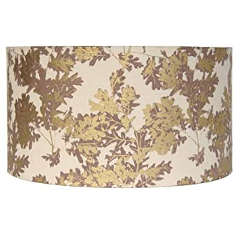 Aimbry Sherwood Gold Thick Printed Shade, 14 inch