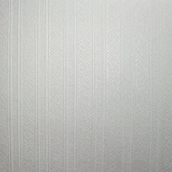 Superfresco Paintable Contemporary Stripe Durable Heavy Duty White Wallpaper