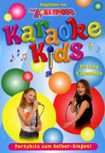 Karaoke Dvd Kinder (Karaoke Kids - Partyhits zum Selber-Singen!)