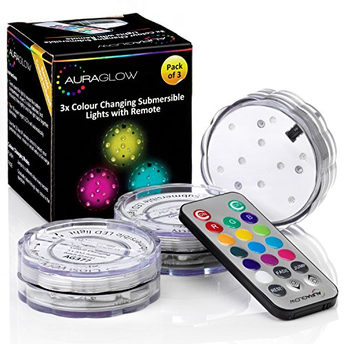 auraglow-remote-control-colour-changing-submersible-underwater-aquarium-pond-puck-aqua-mood-lights-3