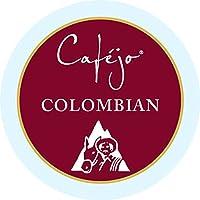 Cafejo K-Cups, Colombian Roast Coffee, 50 Count