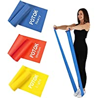 Resistance Exercise Band Kit- 1.2M or 1.8M - Strength Training & Conditioning - Pilates - Resistance Bands for Mobility Strength & Rehab Premium Quality, 3Pack