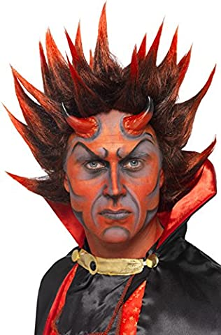 Smiffy's Devil Punky Spikes Wig -