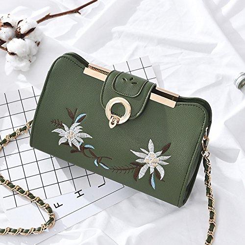 Umhängetaschen Die neue Flut des koreanischen Mode Handtaschen All-Match Satchel Kette Tasche Tasche Tasche c