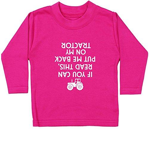Hippowarehouse  Baby - Jungen T-Shirt, Pink, 9473-BTLS-FP-0-3