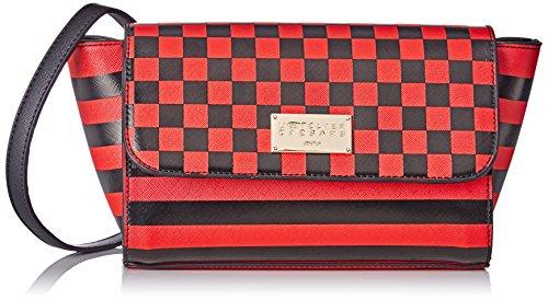 Preisvergleich Produktbild L'AETELIER CAESARS Damen Jenny Baguette,  Rot (Rouge Et Noir),  9, 5x14x31 cm