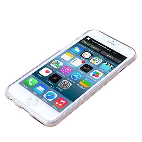 Apple iPhone 5 / 5s Etui Coque - Housse Etui Portefeuille Pu Cuir Rouge Pour Le Apple iPhone 5 5S - thinkmobile Hibou 4