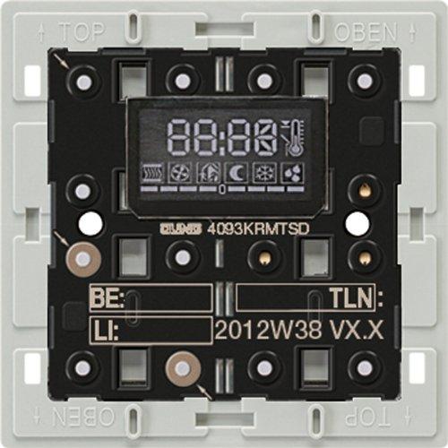 Preisvergleich Produktbild Jung 4093KRMTSD KNX Komfortregler-Modul mit Tastensensor
