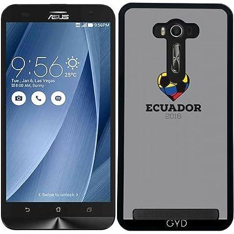 Custodia per Asus Zenfone 2 Lazer (ZE550KL) - Camicia Di Calcio Ecuador 2016 by ilovecotton