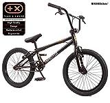 KHE BMX Fahrrad Cosmic schwarz mit Affix Rotor 20 Zoll nur 11,1kg!