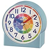 Seiko Childrens Time Teaching Alarm Clock - Blue
