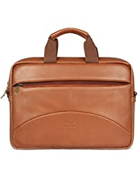 The Clownfish 15.6 inch Leatherette Tablet & Laptop Bag / Messenger Bag Briefcase - Macbook Pro, Macbook Air