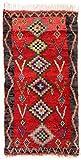 Trendcarpet Tappeto Berberi dal Marocco Boucherouite 280 x 145 cm