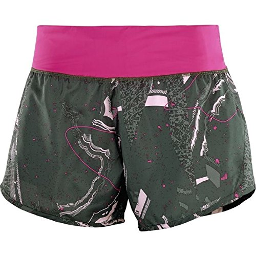 Salomon Elevate Damen Short, 2 in1 Short W Urban Chic