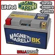 mm-ion-4batería litio Magneti Marelli ytz14s-bs LiFePO4ytz14sbs Moto Scooter Quad Cross