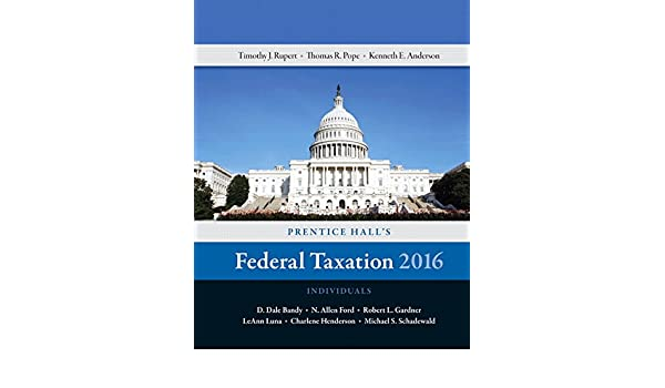 Buy Prentice Hall's Federal Taxation 2016 Individuals Book