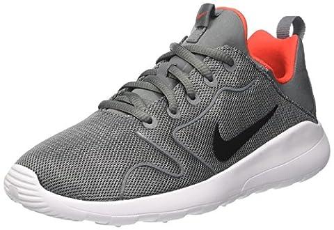 Nike Kinder und Jugendliche Kaishi 2.0 Gs Laufschuhe, Mehrfarbig (Cool Grey/Black-Max Orange-White), 39 EU