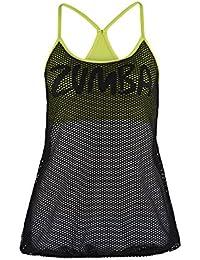 Zumba Fitness Damen Tank Mesh with Me Bra