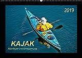 Kajak - Abenteuer und Entspannung (Wandkalender 2019 DIN A2 quer): Kajak, wilde Flüsse bezwingen oder ruhig über das Wasser gleiten - Abenteuer und ... (Monatskalender, 14 Seiten ) (CALVENDO Sport)
