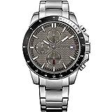 Tommy Hilfiger Herren-Armbanduhr Analog Quarz Edelstahl 1791165