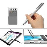 Touch Screen Pen/Stiftspitze Kit-Tool für Microsoft Surface Pro 4 / Buch / 3 (Farbe: Silbergrau)
