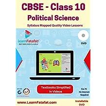 LearnFatafat CBSE Class 10 Political Science Video Course (DVD)