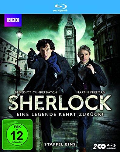 4 Sherlock-serie (Sherlock - Staffel 1 [Blu-ray])