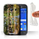 Custodia/Cover Gel/TPU/Prottetiva STUFF4 stampata con il disegno Thailandia Paesaggio per Samsung Galaxy Ace Style - Passerella