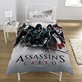 Assassins Creed 'Heroes Montage' Duvet Set, Multicolour, Single