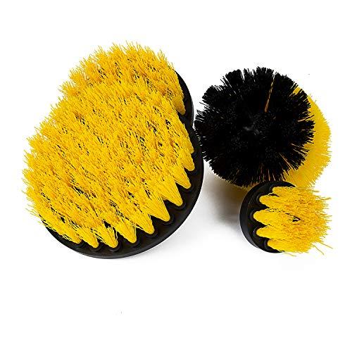 Hakkin - Set di spazzole per la pulizia di forni e piastrelle per pavimenti, vasca, auto, pneumatici, bagno, cucina.