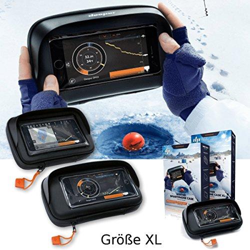 Tiefer Winter Smartphone Fall für Eis Angeln (Größe XL)