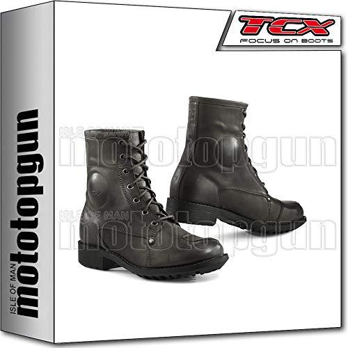 TCX Scarpe Stivali Moto 8060W Lady Blend Waterproof Marrone tg 37/5,5