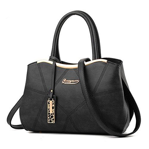 2017 Neue Spleiß weibliche Handtaschen für Frauen Dame Packet Messenger Hobos Schultertaschen Satchel Totes (Mulberry Lady-bag)