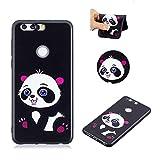 BONROY TPU Coque - pour Huawei Honor 8 Silicone Étui Housse Protecteur-Panda