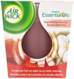 Air Wick Wohlfühl-Duftkerze Duo Orientalische Gewürze, Duftkerzen im Glas, Kerzenset Winter, 2 Stück