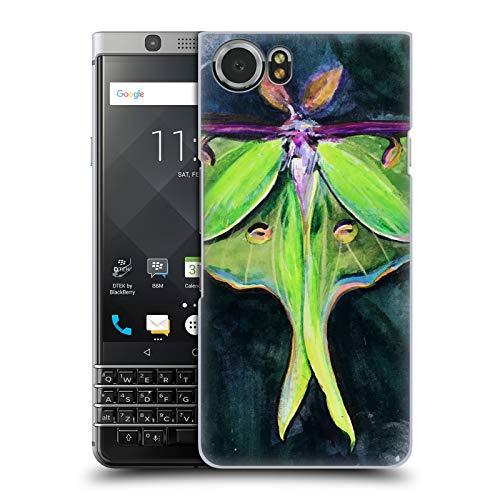 Head Case Designs Offizielle Mai Autumn Luna Motte Tiere Ruckseite Hülle für BlackBerry KEYone/Mercury